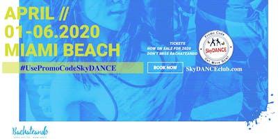 Promo Code SkyDANCE  15% for Bachateando Dance Festival Miami