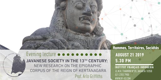 Javanese society in the 13 cent. & epigraphic corpus of Kertanagara's reign