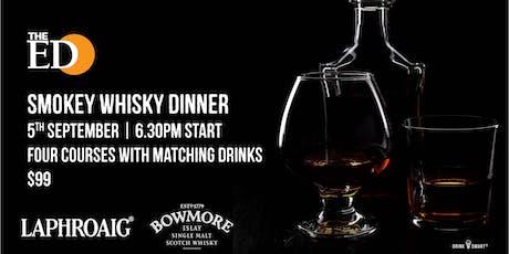The Edinburgh Hotel Scotch Whisky Dinner tickets