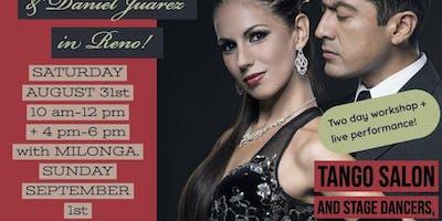 Alejandra Armenti & Daniel Juárez Workshop & Show
