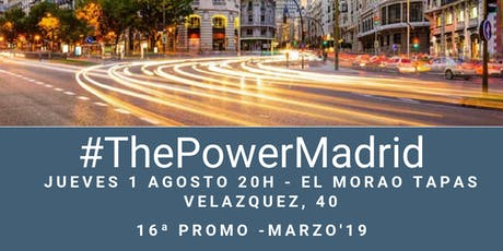 Afterwork The Power MBA Madrid - Promo 16 entradas