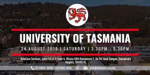 UNIVERSITY OF TASMANIA INFORMATION SESSION