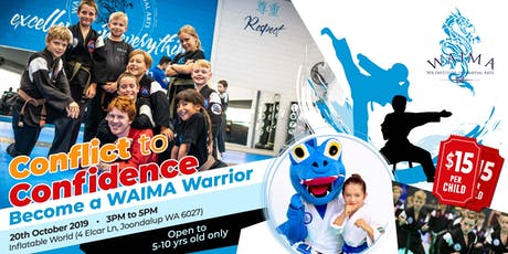 Conflict to Confidence - Become a WAIMA Warrior (NOR) tickets