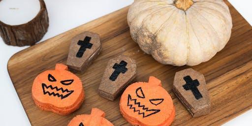 School Holidays Halloween Cooking Part 3