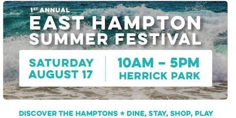 Meditation, Yoga and Pilates Pop Up Class | East Hampton Summer Festival tickets
