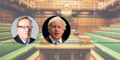 Boris Johnson and British Conservatism tickets