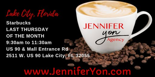 Coffee, Conversation & Connect with Jennifer Yon in Lake City, FL.