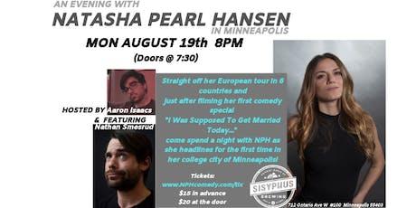 An Evening with Natasha Pearl Hansen in Minneapolis tickets