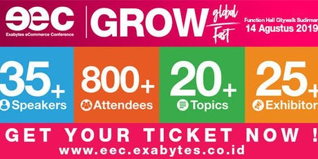 Exabytes eCommerce Conference (EEC) Indonesia 2019 tickets