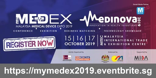 [FREE] MALAYSIA MEDICAL DEVICE EXPO 2019 (MEDEX)