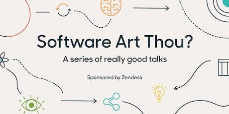 Software Art Thou? - Mina Radhakrishnan tickets