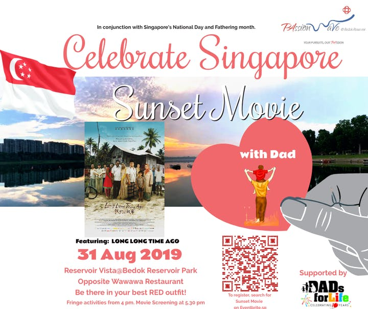 Celebrate Singapore Sunset Movie Tickets, Sat 31 Aug 2019 at 4:00 PM