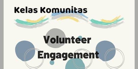 "Kelas Komunitas ""Volunteer Engagement"" tickets"
