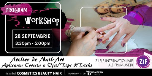 ATELIER Nail Art | Aplicarea corecta a ojei, Tips&Tricks | ZIF 2019