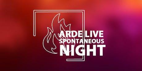 ARDE LIVE | SEPTIEMBRE 2019 entradas