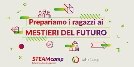 STEAMcamp, edizione settembre 2019 biglietti