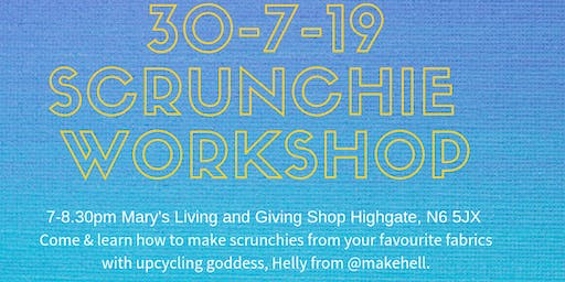 Scrunchie workshop