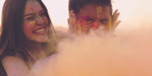 Canon - Coloured Powder Portrait Shoot   Canberra   Intermediate