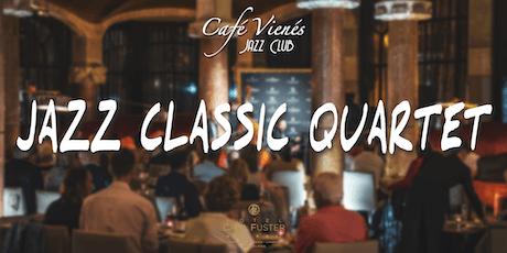 Música Jazz en directo: JAZZ CLASSIC QUARTET entradas