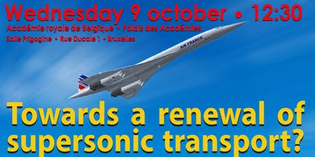 Lecture:Towards a renewal of supersonic transport? billets