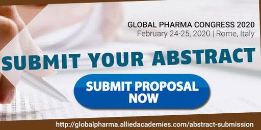 Global Pharma Congress 2020