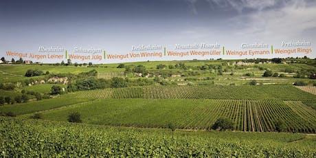 Die Pfalz im Glas – Großer Weinabend mit rund 15 Pfälzer Weinen & Original-Saumagen von Metzgerei Hambel aus Wachenheim an der Weinstraße Tickets