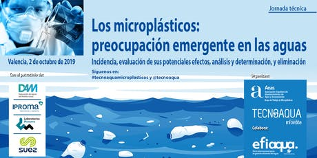 JORNADA TECNOAQUA: Los microplásticos: preocupación emergente en las aguas entradas