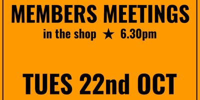 October Books: October Members Meeting