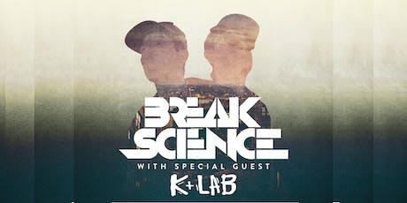 Break Science wsg. K+Lab | Asheville Music Hall tickets