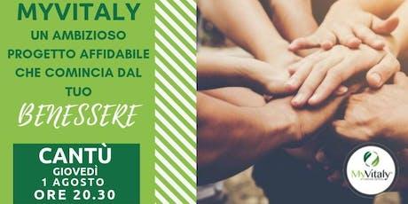 MYVITALY - MEETING CANTU' biglietti