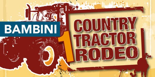BAMBINI Country Tractor Rodeo - Fiera Santo Stefano