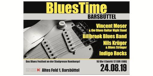 BluesTime Barsbüttel 2019 - das Blues Festival an der Stadtgrenze Hamburgs!