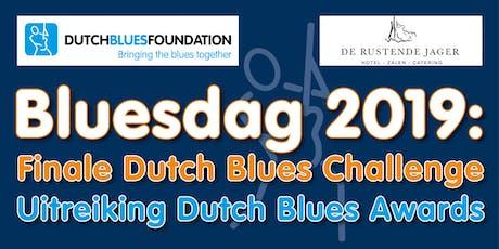 Bluesdag: Finale Dutch Blues Challenge 2019 en Dutch Blues Awards tickets