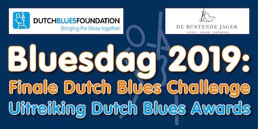 Bluesdag: Finale Dutch Blues Challenge 2019 en Dutch Blues Awards