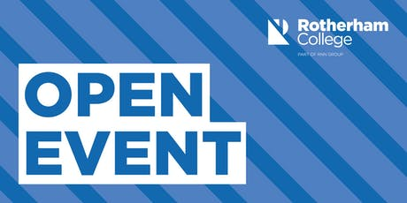 Rotherham College - Town Centre - Open Event tickets