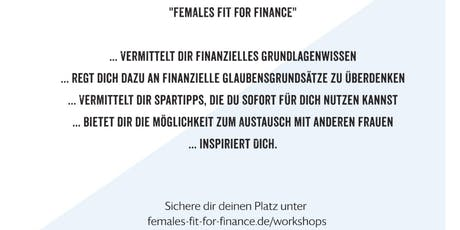 Females fit for Finance Tickets