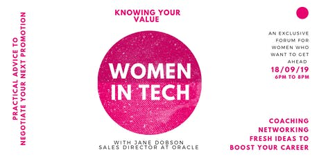 Women in Tech: Knowing your Value in the Workplace tickets