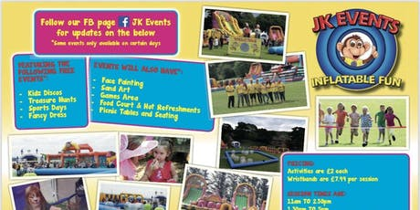 Uppermill Park Inflatable Fun tickets
