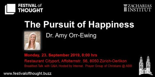 "FoT - Breakfast Talk: Dr. Amy Orr-Ewing ""The Pursuit of Happiness"""