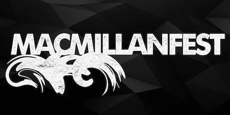 Macmillan Festival  tickets