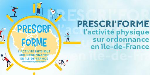 "FORMATION ""Prescri'Forme"" sport sur ordonnance"