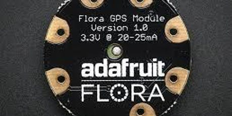 Tutorial wearable electronic platform Flora adafruit - Roma biglietti