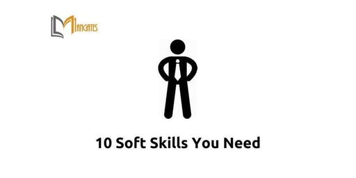 10 Soft Skills You Need 1 Day Virtual Live Training in Brussels