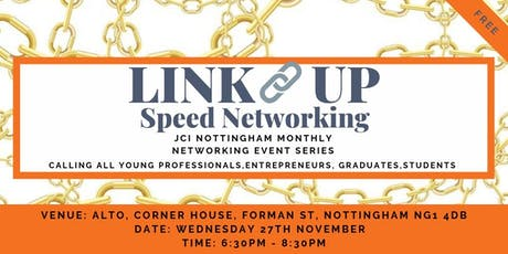Link Up Nottingham – Speed Networking  *Young Professional Networking tickets