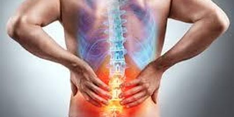Your Back Pain: Live with it or fix it. Treatment and options FREE Seminar tickets