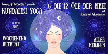 Wochenend-Retreat zu Allerheiligen & Allerseelen mit Kundalini-Yoga Tickets