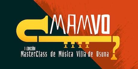 Master Class MAMVO Tuba y Bombardino - Alejandro Marco biglietti