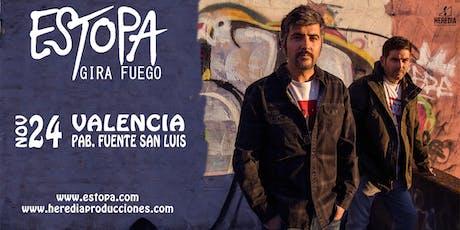 Estopa presenta GIRA FUEGO en Valencia (2ª Fecha) entradas