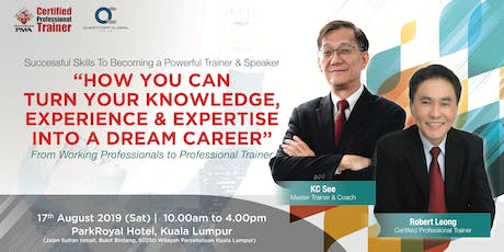 Successful Skills Seminar: Become A Trainer, Elevate Your Profession tickets