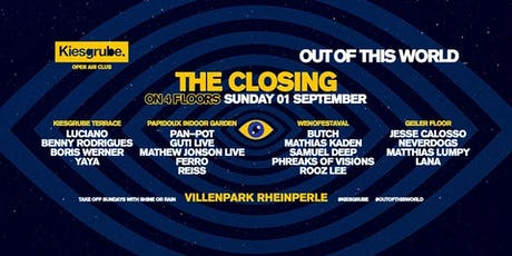 Kiesgrube Season Closing  2019 tickets